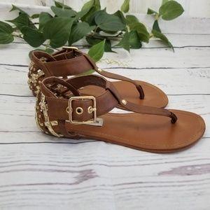 Steve Madden Suttle Lattice Heel Sandals